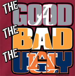 Alabama Crimson Tide Football T-Shirts - The Good The Bad The Ugly Tee