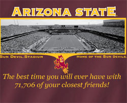 Arizona State Sun Devils T-Shirts - Welcome To My House Sun Devil Stadium