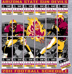 Arizona State Sun Devils T-Shirts - 2011 Tickets To Glory