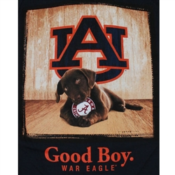 Auburn Tigers Football T-Shirts - Man's Best Friend - Good Boy