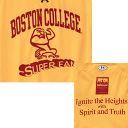 Boston College Eagles Football T-Shirts - Super Fan - Ignite The Heights