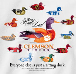 Clemson Tigers Football T-Shirts - Callin Out The Competition