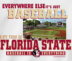 Florida State Seminoles Baseball T-Shirts - Baseball Is Everything