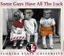 Florida State Seminoles Football T-Shirts - Some Guys Have All The Luck