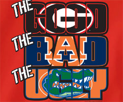Georgia Bulldogs Football T-Shirts - The Good The Bad The Ugly