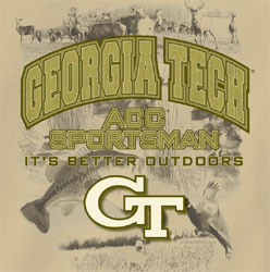 Georgia Tech Yellow Jackets T-Shirts - ACC Sportsman It's Better Outdoors
