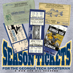 Georgia Tech Yellow Jackets T-Shirts - Season Tickets Lifetime