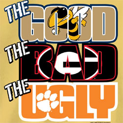 Georgia Tech Yellow Jackets Football T-Shirts - The Good The Bad The Ugly