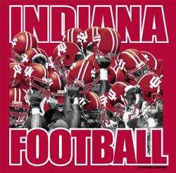 Indiana Hoosiers Football  T-Shirts - Go Big Red