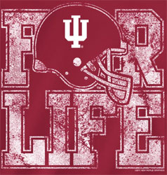 Indiana Hoosier Football T-Shirts - For Life