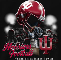 Indiana Hoosiers Football  T-Shirts - Where Pride Meets Power