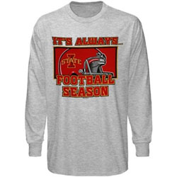 Iowa State Cyclones Football T-Shirts - It's Always Football Season