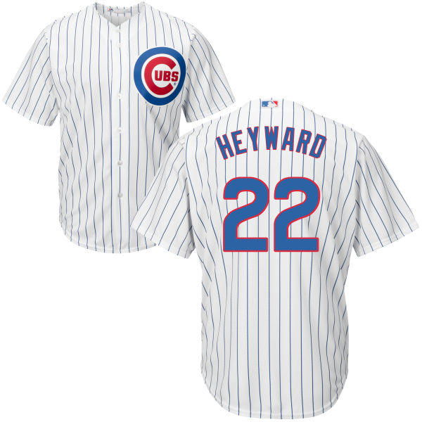 Jason Heyward 22 Chicago Cubs Majestic Cool Base Player Jersey - White