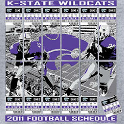 Kansas State Wildcats Football T-Shirts - 2011 Schedule Tickets To Glory