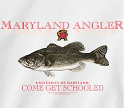 Maryland Terrapins Football T-Shirts - Angler - Come Get Schooled