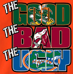 Miami Hurricanes Football T-Shirts - The Good The Bad The Ugly