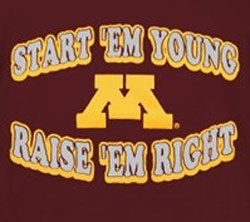 Minnesota Golden Gophers Football T-Shirts - Raise Em Right