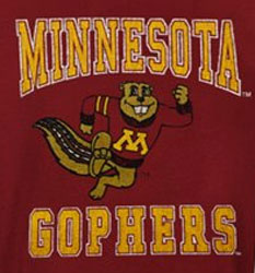 Minnesota Golden Gophers Football T-Shirts - Cool Youth Gopher Fan Shirt