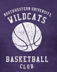 Northwestern Wildcats Basketball T-Shirts - Basketball Club