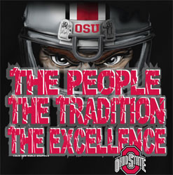Ohio State Buckeyes Football T-Shirts - The People Tradition Excellence