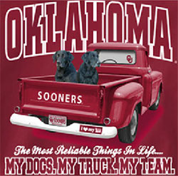 Oklahoma Sooners Football T-Shirts - Always Faithful - My Dogs My Truck My Team