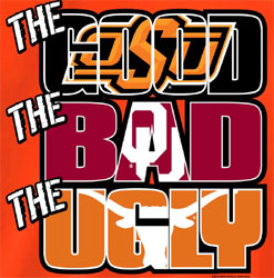 Oklahoma State Cowboys Football T-Shirts - The Good The Bad The Ugly