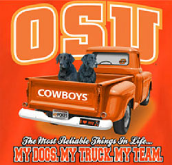 Oklahoma State Cowboys Football T-Shirts - Always Faithful - My Dogs My Truck My Team