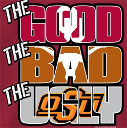 Oklahoma Sooners Football T-Shirts - The Good The Bad The Ugly