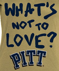 Pittsburgh Panthers Football T-Shirts - What's Not To Love?