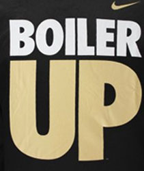 Purdue Boilermakers Football T-Shirts - Boiler Up - By Nike