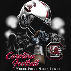 South Carolina Gamecocks Football T-Shirts - Where Pride Meets Power