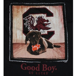 South Carolina Gamecocks Football T-Shirts - Man's Best Friend - Good Boy