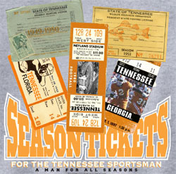 Tennessee Volunteers Football T-Shirts - Lifetime Sportsman Season Tickets