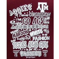 Texas A&M Aggies Football T-Shirts - Aggies Obsession Passion