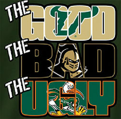South Florida Bulls USF Football T-Shirts - The Good The Bad The Ugly