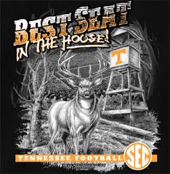 Tennessee Volunteers Football T-Shirts - Best Seat In The House - Deer