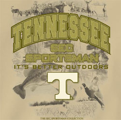 Tennessee Volunteers Football T-Shirts - It's Better Outdoors - Sportsman