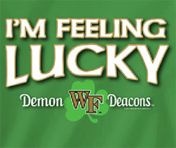 Wake Forest Demon Deacons Football T-Shirts - I'm Feeling Lucky